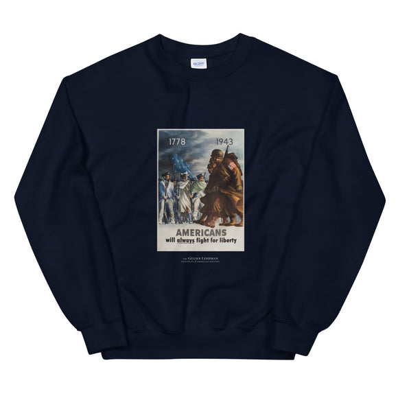 World War II recruiting poster, 1943 (sweatshirt)