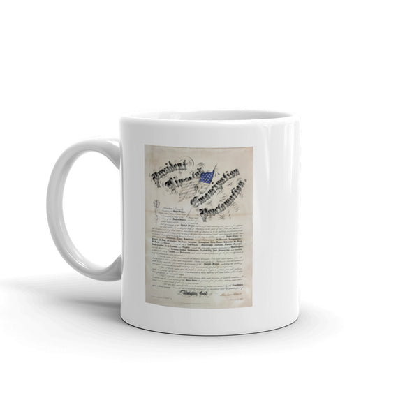 The Emancipation Proclamation (mug)