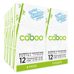Caboo Pocket Facial Tisse 8-Pack