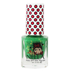Kiss the Frog Glitter 4ml Peel off Kids Nail Polish