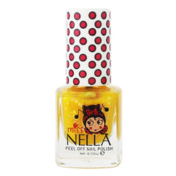 Honey Twinkles Glitter 4ml Peel off Kids Nail Polish