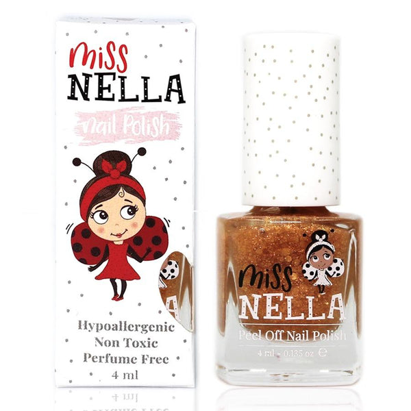 Open, Sesame Glitter 4ml Peel off Kids Nail Polish