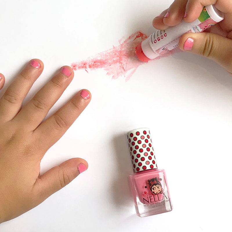 Pink A Boo 4ml Peel off Kids Nail Polish