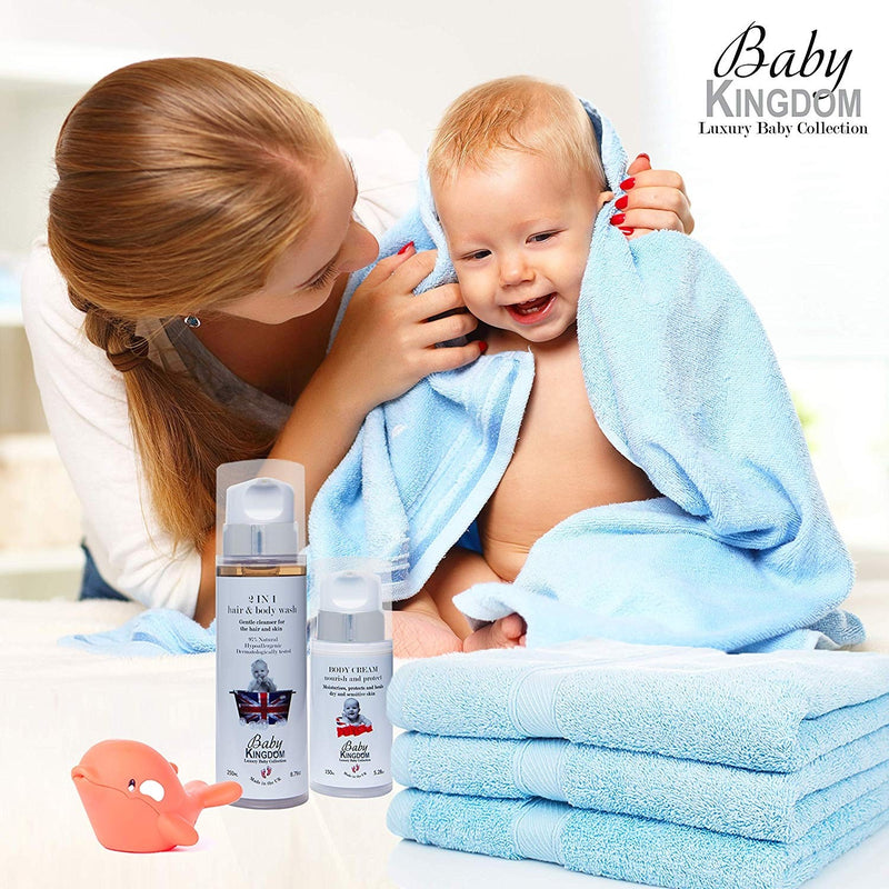 Baby Kingdom 2 in 1 Hair & Body Wash
