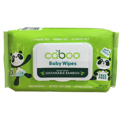 Caboo - Bamboo Baby Wipes / 72 Wipes