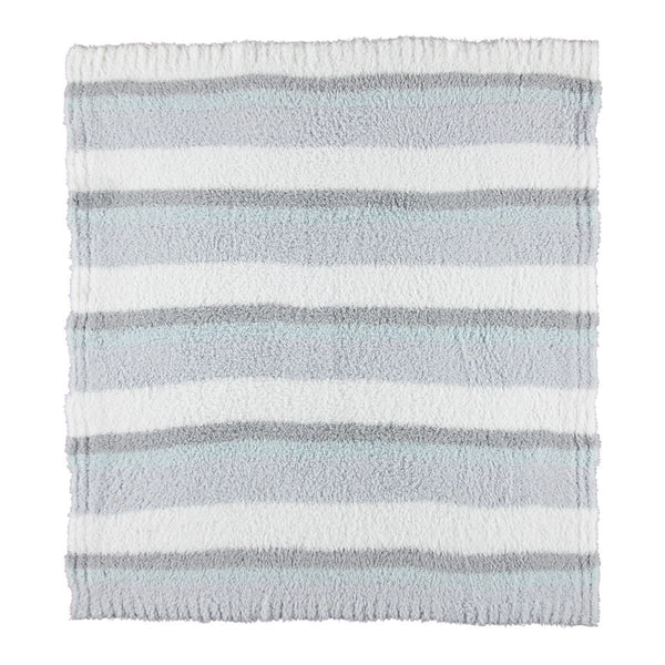 BAREFOOT DREAMS MULTI STRIPPED STROLLER BLANKET