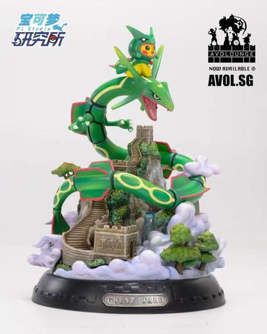 PL Studio -  Pikachu cosplay Great Wall Rayquaza