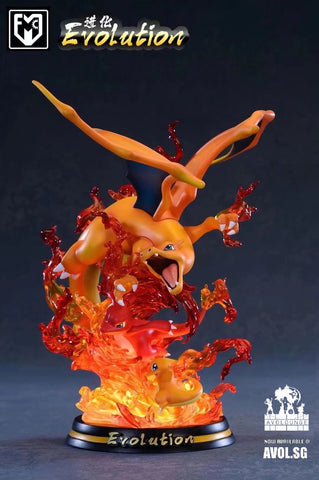 Evolution Series Charizard Family