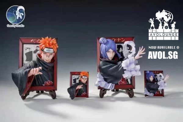 Gravity Studios - Akatuski Pain and Konan 3D [4 variants]