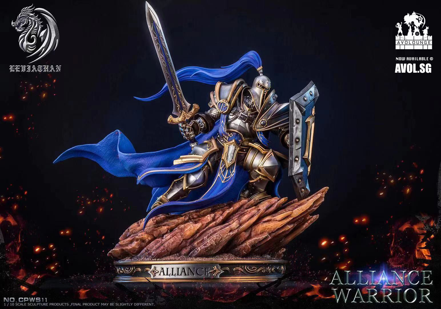 Leviathan Studios -  Alliance warrior [1/10]