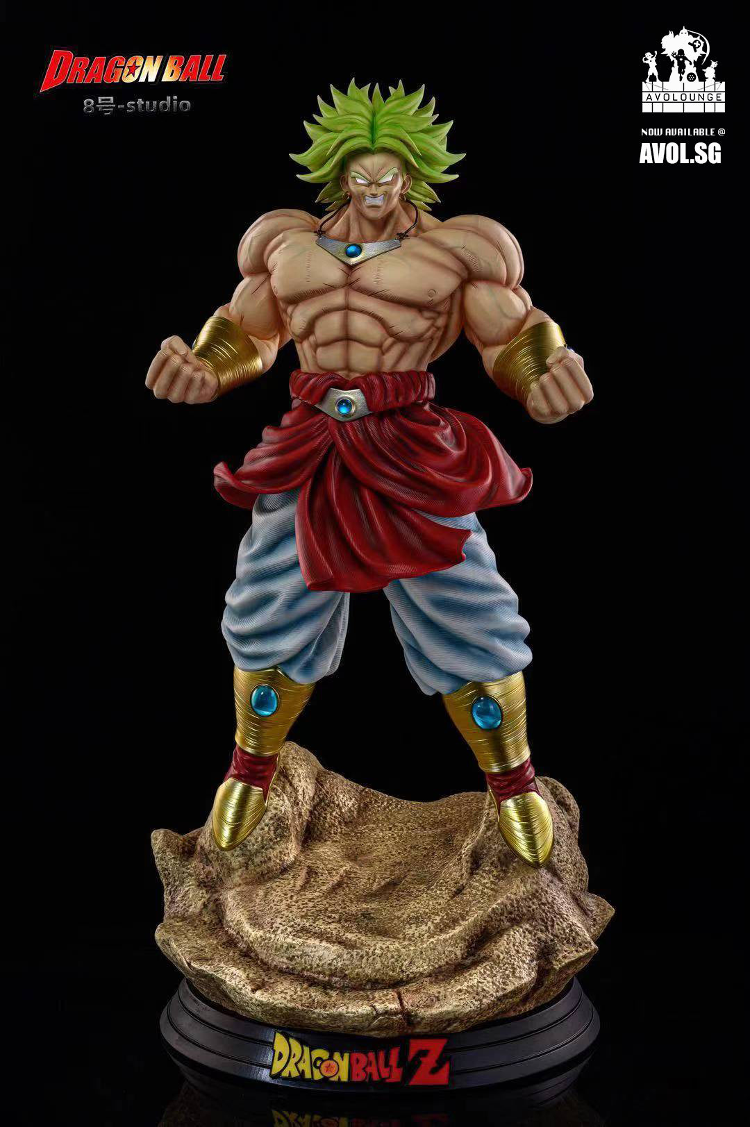 Number 8 Studio - Broly [1/4 scale and 1/1 scale]