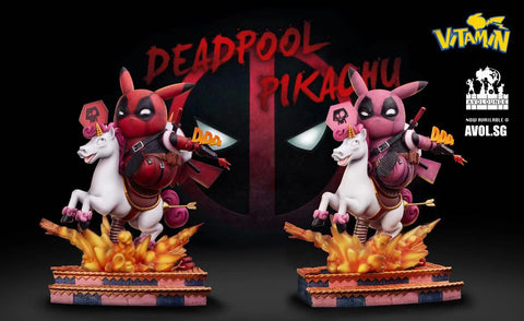 Vitamin Studio - Pikachu cosplay Deadpool
