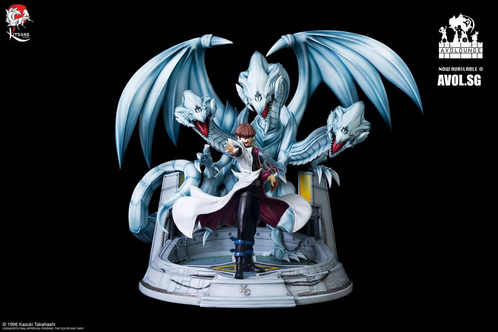 Kitsune Statue - Kaiba and Blue Eyes Ultimate Dragon 1/7 scale [Licensed]