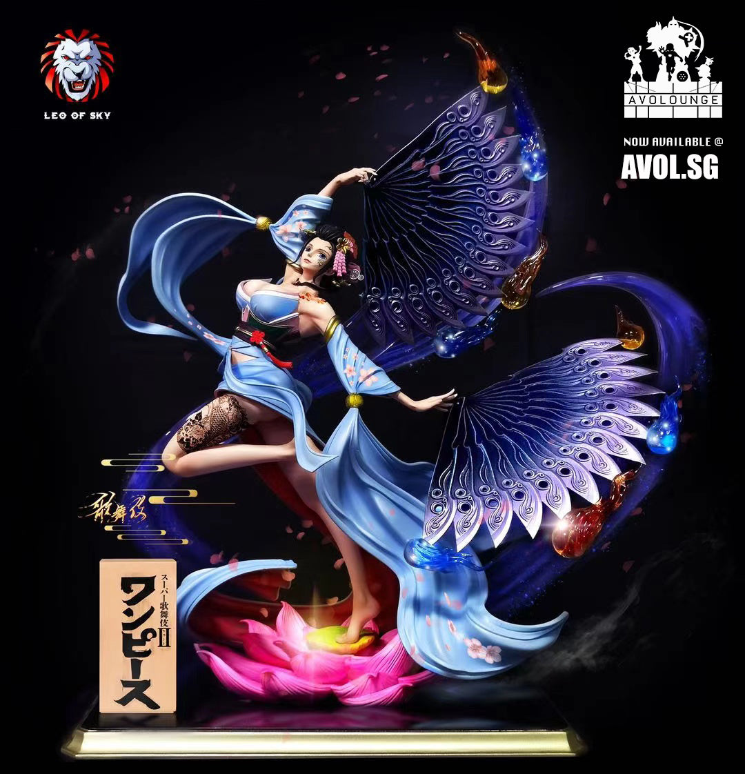 Leo of Sky Studio - Kabuki Nico Robin [1/6 scale and 1/4 scale]