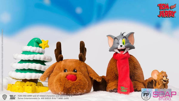 Soap Studio - Tom and Jerry in xmas mascot