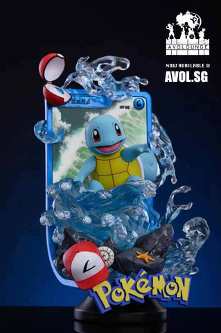 PM Studio - Squirtle Card [2 variants]