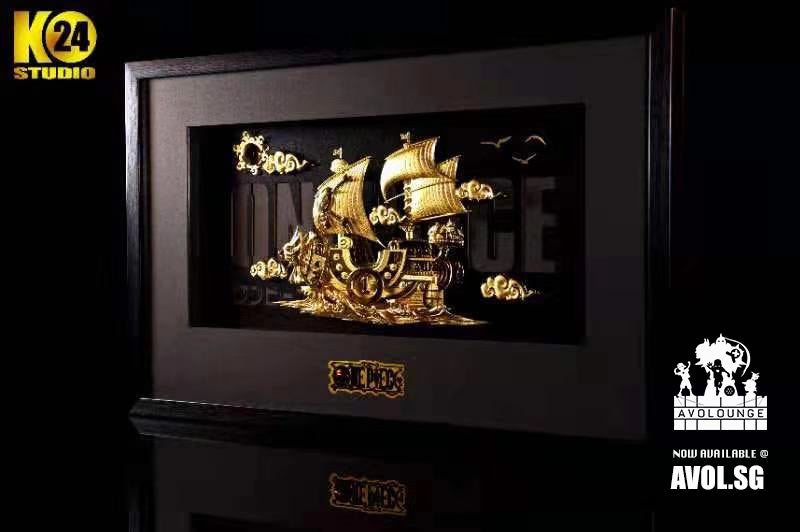 24K Studio - The Gold Thousand Sunny in frame
