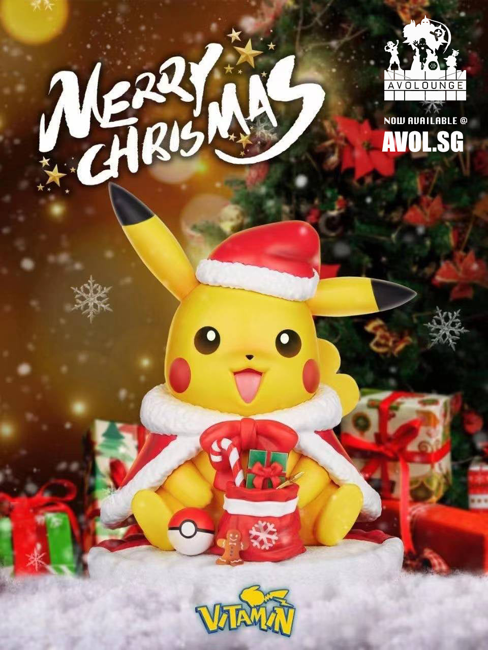 Vitamin Studio - Christmas Pikachu [1/6 scale and 1/1 scale]