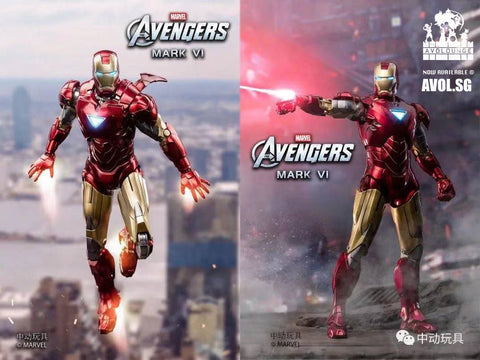 License by Marvel - Iron Man MK5 and MK6