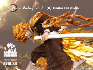 Hero Belief Studio X Hunter Fan Studio - Agatsuma Zenitsu[Regular / Bleeding version]