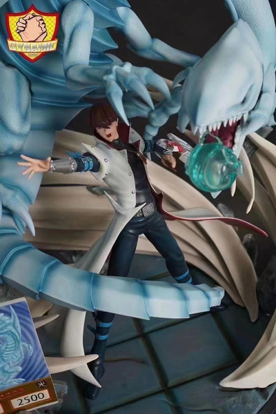 Dynamic Studio - Seito Kaiba And Blue Eyes White Dragon