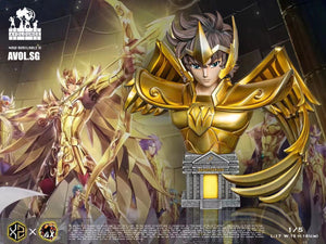 XS Studios X AX Studios - Sagittarius Aiolos Gold Saint  1/5 scale [open eyes / Close eyes]