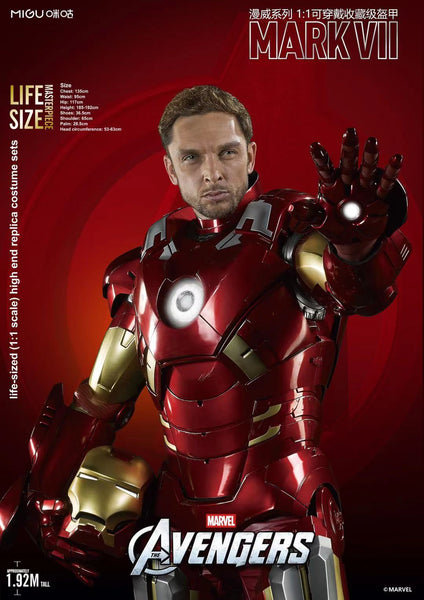 KillerBody  - Life size Iron Man MK7 Wearable Armour