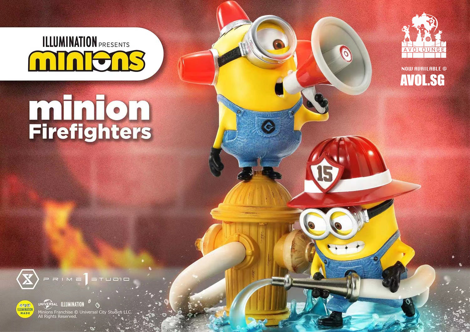Prime 1 Studio - Minions Firefighters
