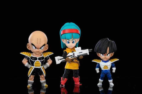 League Studio - Bulma; Krillin; and Young Gohan set [WCF]