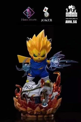 Magic Studio X Joker Studio  - Pikachu Cosplay Demonized Vegeta