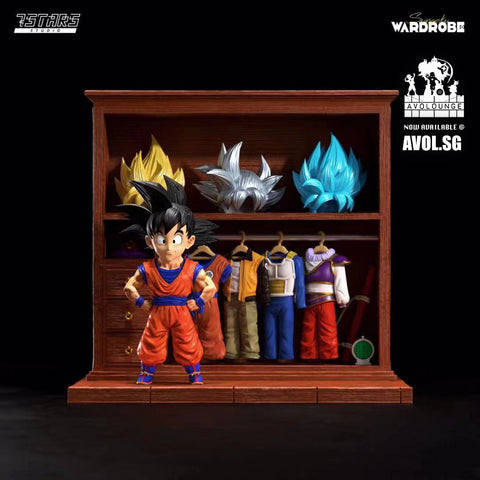 7 Stars Studio - Son Goku And Wardrobe [WCF]