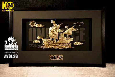 24K Studio - 24K gold plated Going Merry