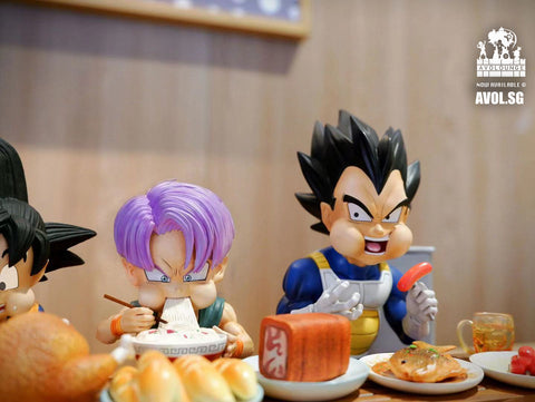 A+ Studio - Son goku and Trunks Eating  [SD]