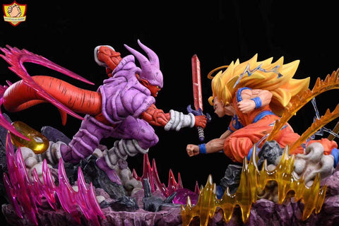 Dynamic Studio - Super Saiyan 3 Goku Vs Janemba [1/4 scale and 1/6 scale]