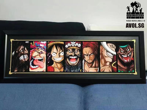 Jelly - One Piece Poster Frame