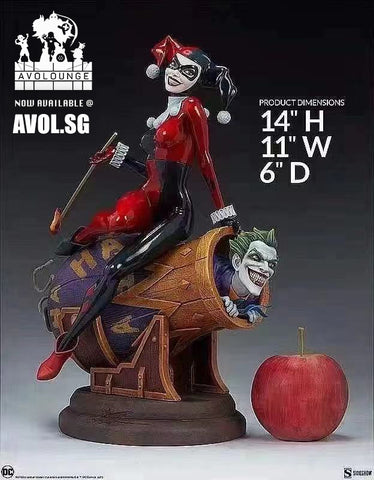 Diorama by Sideshow Collectibles - Harley Quinn and The Joker