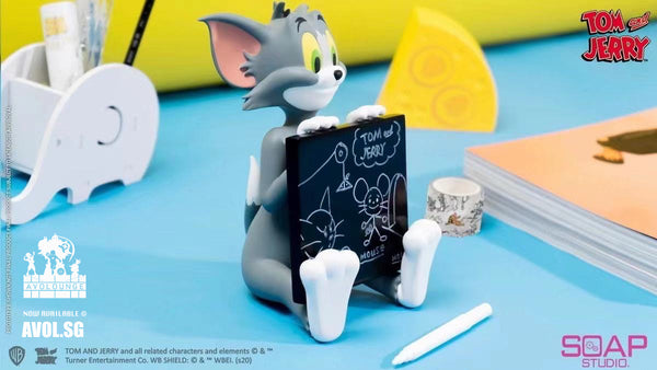 Soap Studio - Tom with Blackboard and Jerry with cheese set