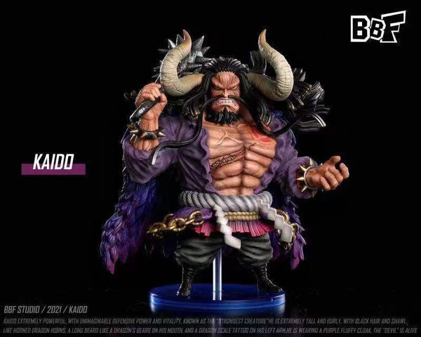 BBF Studio - WCF Kaido with  Dragon effect (Solid / Transparent) + ghost island base [9 variants]