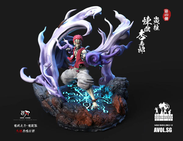 NiRen Studio - Kyojuro Rengoku and Akaza
