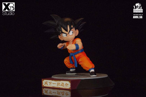 XBD Studio - Young Son Goku / Bacterian