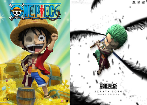 Mighty Jaxx Studio - Luffy & Zoro