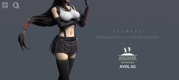 Neoclassicism & O2 Studio - Tifa Lockhart (2 Version)