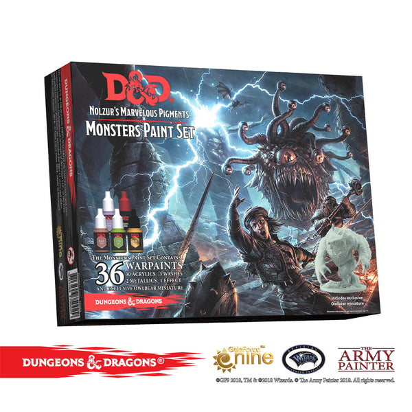 Nolzur's Marvelous Pigments Monsters Paint Set