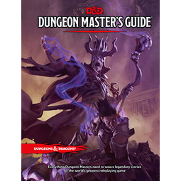 Dungeons and Dragons 5e: Dungeon Masters Guide (hardcover)