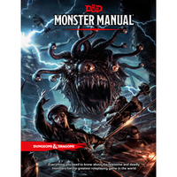 Dungeons and Dragons 5e: Monster Manual (hardcover)