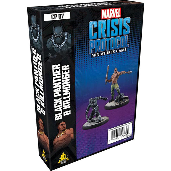 Marvel Crisis Protocol - Black Panther and Killmonger Character Pack
