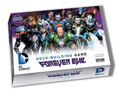 DC Comics Deck-Building Game: 3 - Forever Evil (stand alone or expansion)