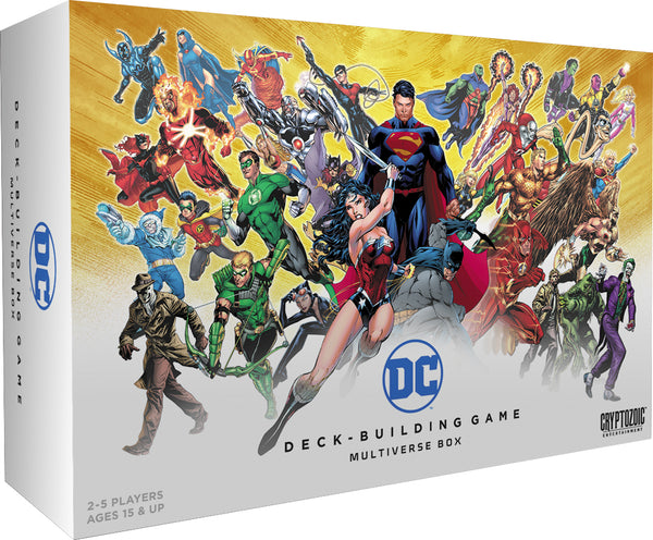 DC Comics Deck-Building Game: Multiverse Box Expansion