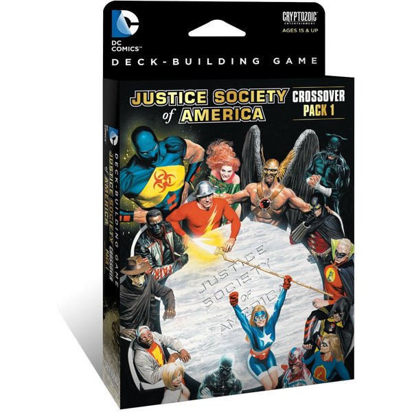 DC Comics Deck-Building Game: Crossover Expansion Pack 1 - Justice Society of America