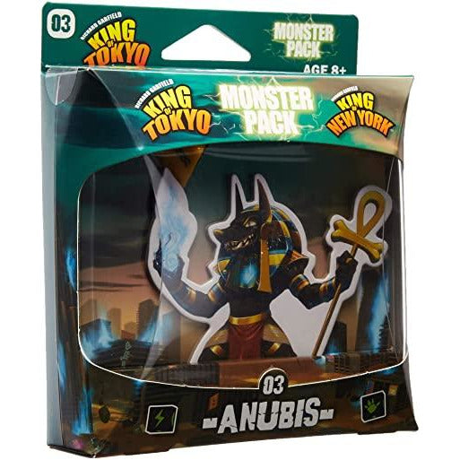 King of Tokyo / New York Anubis Monster Pack